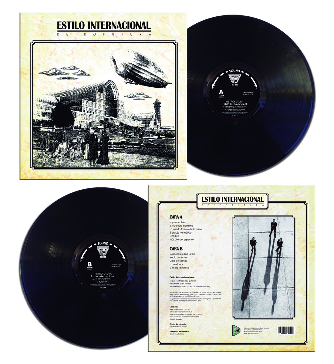 Cielo en Llamas | Delia Records