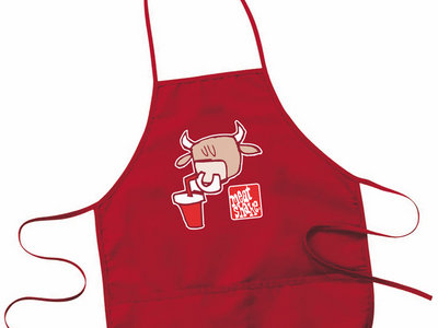 Red Pete the Cow Apron main photo