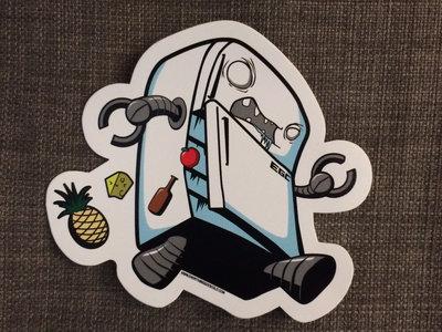Edgar G. Chillingston Sticker (pack of 5) main photo