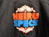 """Heiruspecs"" Hoodie - Black photo"