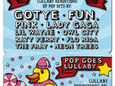 Pop Goes Lullaby - Download Card main photo