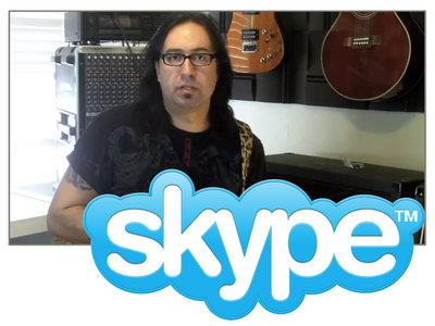 Take An Online Skype Guitar Lesson main photo