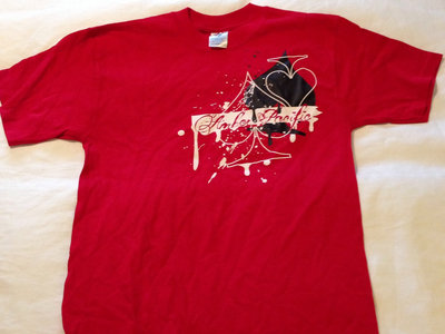 Amber Pacific Spade Logo Tee (Red) main photo