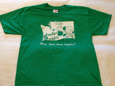 "Amber Pacific ""How 'Bout Them Apples?"" Tee (Green) main photo"
