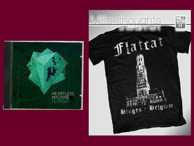 "BUNDLE: ""Heartless Machine"" CD + ""Bruges"" T-Shirt main photo"