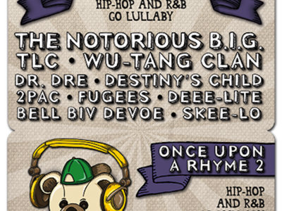 Once Upon A Rhyme 2: Hip-Hop and R&B Go Lullaby - Download Card main photo