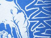 TRENDY FUCKWIT T-SHIRT (Blue +White) photo