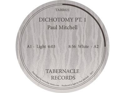 TABR021 - Paul Mitchell - Dichotomy Pt.1 main photo