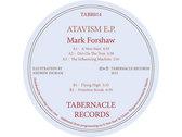 TABR014 - Mark Forshaw - Atavism E.P. photo