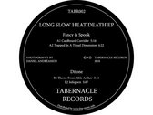 TABR002 -  Fancy & Spook / Ditone – Long Slow Heat Death E.P. photo