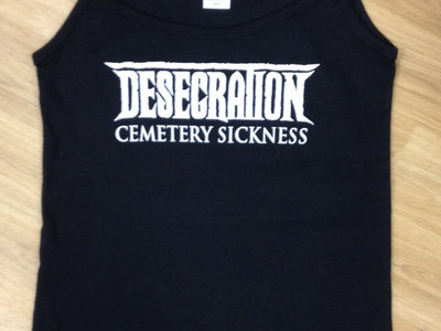 Cemetery Sickness Girlie shirt - Black main photo