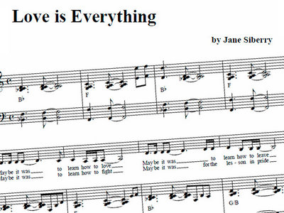 DOWNLOAD- SHEET MUSIC (6 choices) main photo