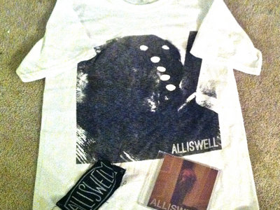 """Alliswell- """"Eleanor"""" T-Shirt w/ Eleanor CD and Alliswell Patch main photo"""