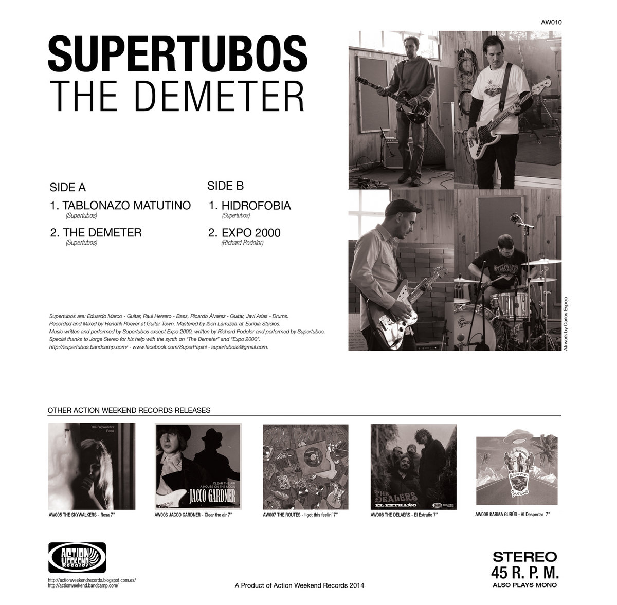 Supertubos - The Demeter (AW010)   Action Weekend