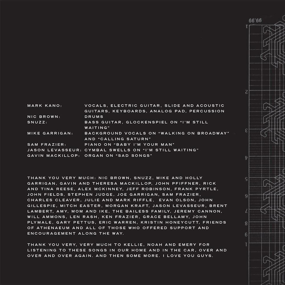 Calling Saturn | Mark Kano