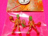 Mini Monsters of the Neighborhood ACTION FIGURE #49 - Michael & Andre photo