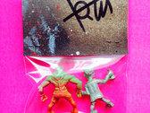 Mini Monsters of the Neighborhood ACTION FIGURE #53 - Newton & Hogan photo