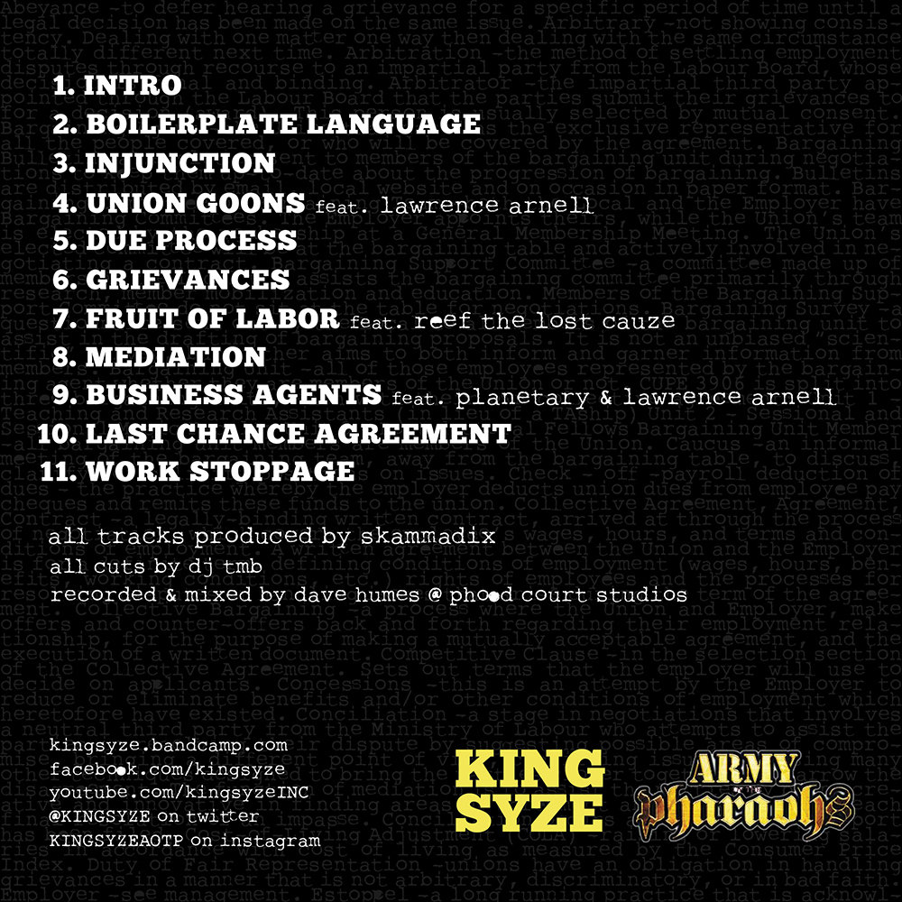 Fruit Of Labor Feat Reef The Lost Cauze King Syze