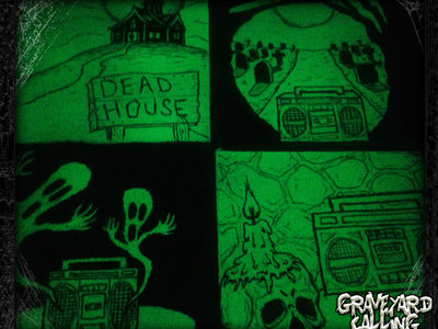 Glow-In-The-Dark Mini Canvases by Tommy Creep! main photo