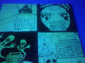 Glow-In-The-Dark Mini Canvases by Tommy Creep! photo