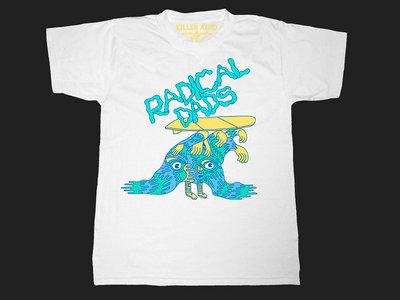 Radical Dads Wave T-shirt - white main photo