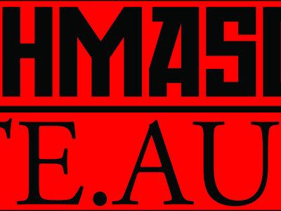 'HATE.AUDIO' Sticker (Red) main photo