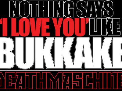 'BUKKAKE' Oversized Sticker main photo
