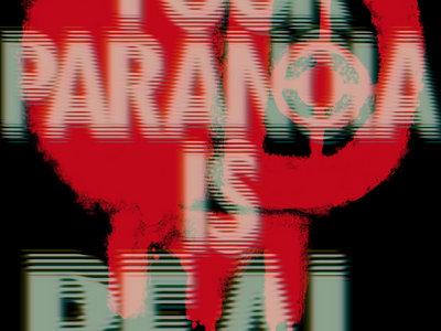 'PARANOIA' Oversized Sticker main photo