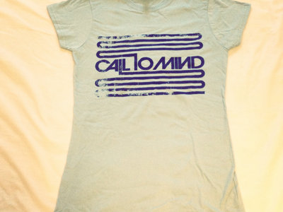 Call To Mind T-Shirt (Ladies - sky blue) main photo