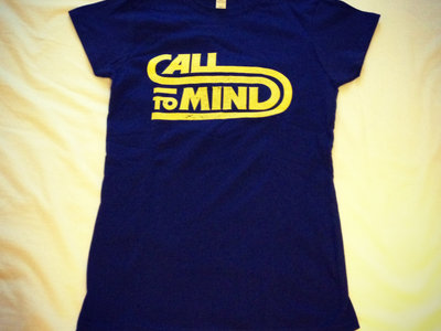 Call To Mind T-Shirt (Ladies - royal blue) main photo