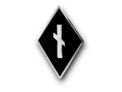 Nauthiz Rune Diamond Pin main photo