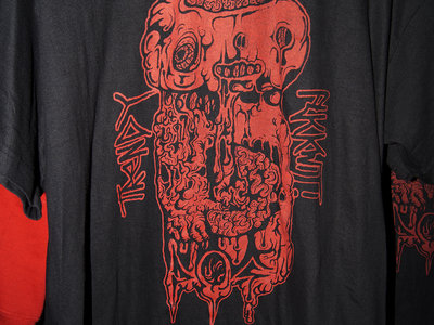 TRENDY FUCKWIT P.O.S - RED ON BLACK -MENS XL main photo