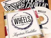 Kaptain Cadillac x Tealer: T-Shirt + CD + Stickers (FREE SHIPPING WORLDWIDE) photo