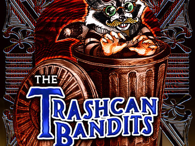 The Trashcan Bandit - Raccoon designed by Amy main photo