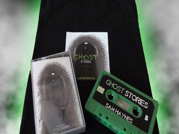 limited edition ghostly green cassette of the new album metallic sam haynes badge and random sam haynes sticker 10 only celebrate halloween 2014 - Halloween Music Streaming
