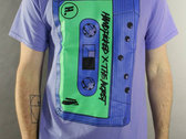 HNDPCKD x THE WORST : Ltd Ed T-Shirt, Cassette Tape Design photo