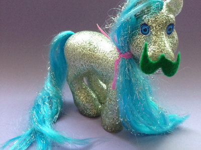 Monsters of the Neighborhood ACTION FIGURE #62 - My Little Hipster Brony main photo