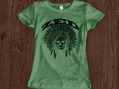 Ladies Indian Head T-shirt - BLOWOUT! main photo