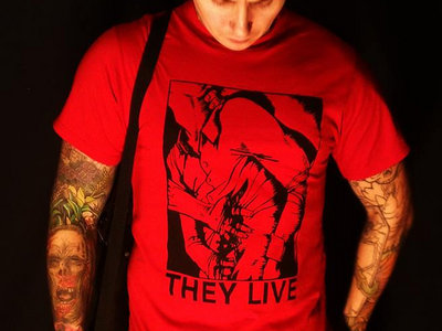 THEY LIVE Stabbing Victim T-shirt main photo