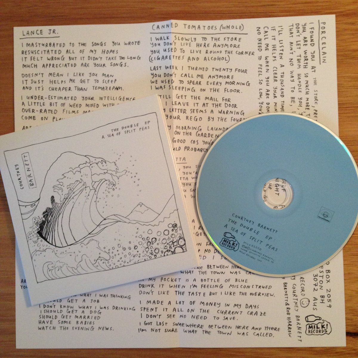 The Double EP: A Sea Of Split Peas | courtney barnett