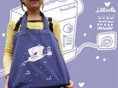 Organic Cotton Tote Bag with original ILLUTE illustration – organic & fair photo