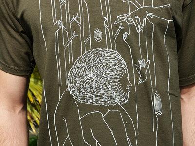 finger face t-shirt (Brown) main photo