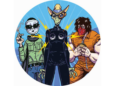 TABR012 – Phantom Planet Outlaws – Muscle Patrol main photo