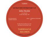 TABR005 – John Heckle – Extrovert / Introvert E.P. photo