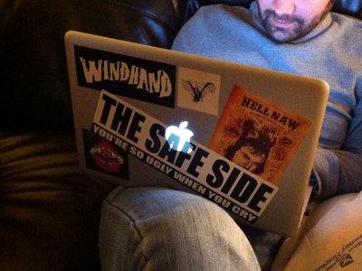 The Safe Side sticker main photo