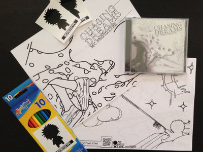 Chasing Dreams Coloring Book/CD Combo main photo