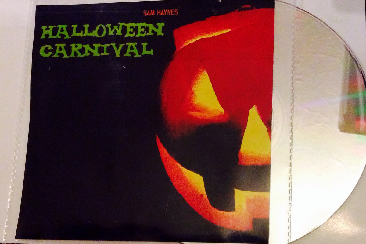 pvc sleeve whit photo quality artwork print hand numbered and signed includes unlimited streaming of halloween carnival haunt music - Halloween Music Streaming