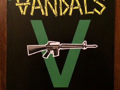 Classic Vandals V-Gun Sticker (Pack of 3) main photo