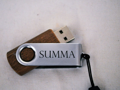 Wooden USB Stick - Full Discography main photo