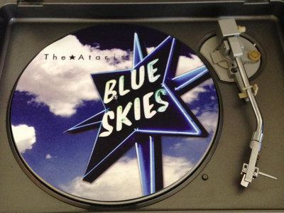 """Ataris Blue Skies 12"""" Turntable Slip Mat + Download of album main photo"""